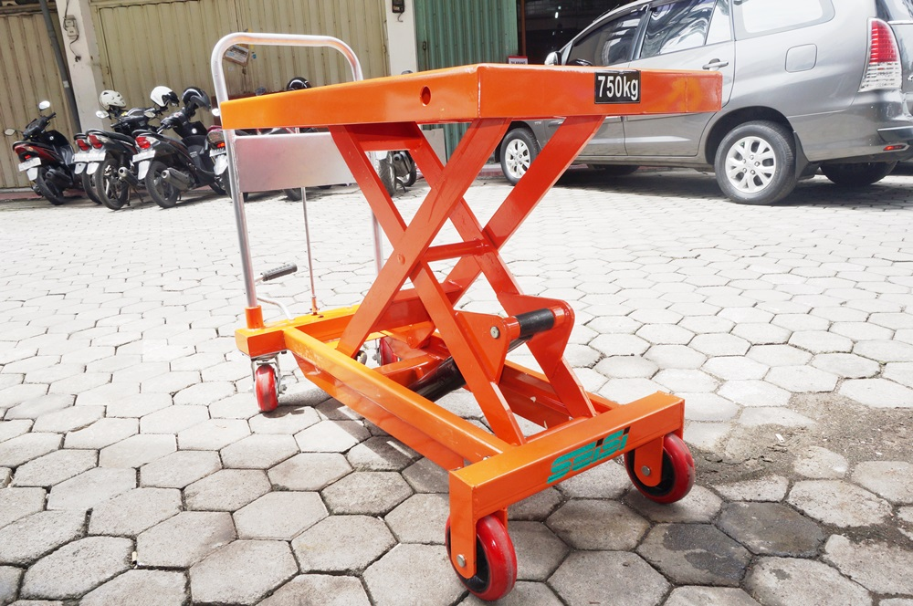 scissor lift table service hand pallet